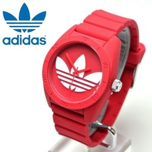 NWT! Adidas Adicolor Red Santiago Unisex Watch